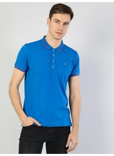 Colin's Slim Fit Polo Yakatişört Mavi